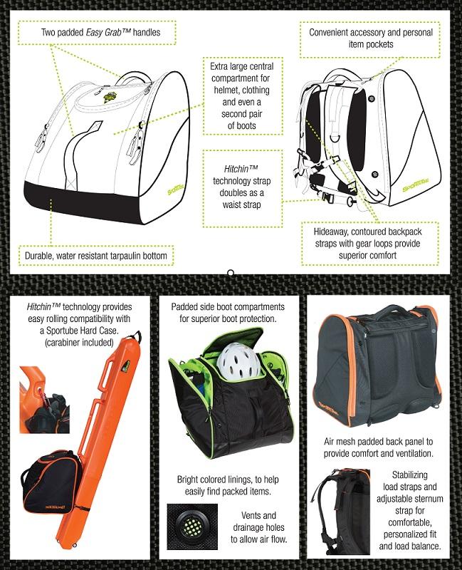 Freerider Padded Gear and Boot travel bag bfcb3fdb99