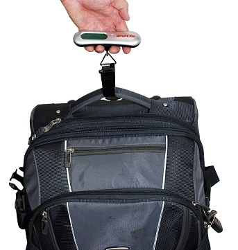 Sportube Digital Luggage Scale with Luggage